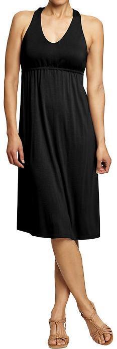 Women's Halter Jersey Dresses