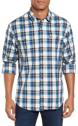COASTAORO Seacliff Plaid Regular Fit Flannel Shirt
