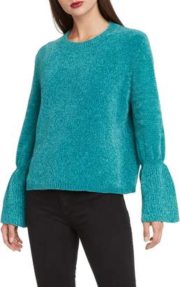 Willow & Clay Chenille Bell Sleeve Sweater