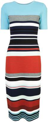 Diane von Furstenberg striped dress