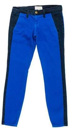 Current/Elliott Low-Rise Skinny Pants