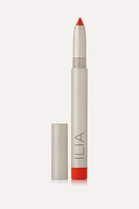 Ilia Satin Cream Lip Crayon - Push It