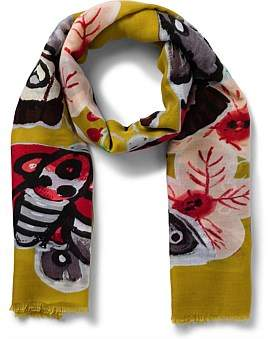 Gregory Ladner Large Butterfly Scarf