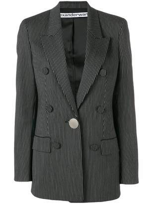 Alexander Wang striped double-breasted blazer