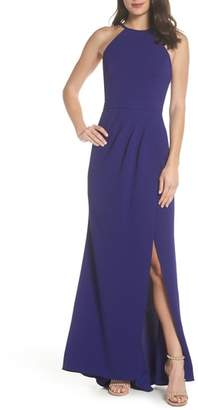 Xscape Evenings High Neck Gown