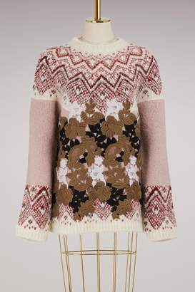 Moncler Gamme Rouge Maple alpaca sweater