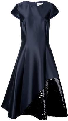 Sachin + Babi Rosiers sequin embellished flared dress