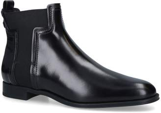 J.P Tods Leather Chelsea Boots