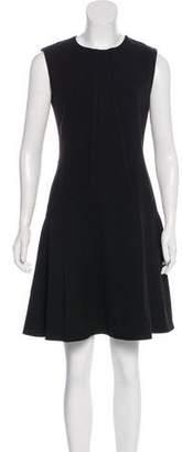 Lela Rose Sleeveless Mini Dress