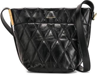 Givenchy Mini GV Convertible Bucket Bag in Black | FWRD