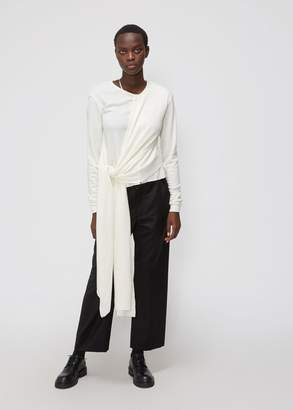 Lemaire Long Sleeve Knotted Top