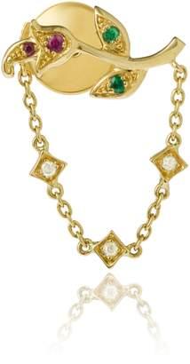 Leon Yvonne Rose Chain Earring
