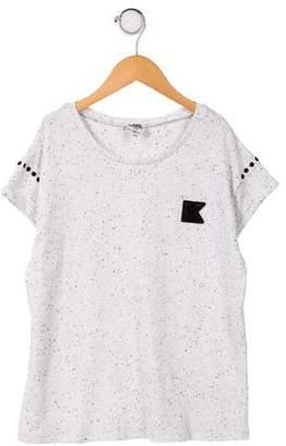 Karl Lagerfeld Boys' Short Sleeve Knit Top