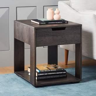 west elm Pure Storage Side Table - Carbon