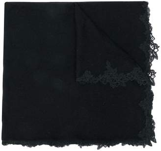 Ermanno Scervino lace-embroidered scarf