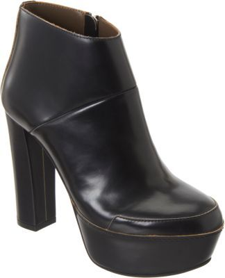 Marni Raw Edge Platform Ankle Boot