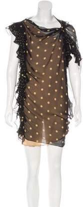 3.1 Phillip Lim Ruffle Polka Dot Dress