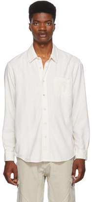 Our Legacy White Silk Classic Shirt
