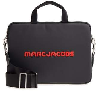 Marc Jacobs Logo 13-Inch Computer Commuter Case