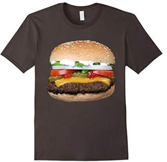 Burger Cheeseburger matching with Fries costume t-shirt