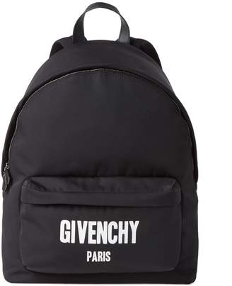 Givenchy Big Print Canvas Day Pack