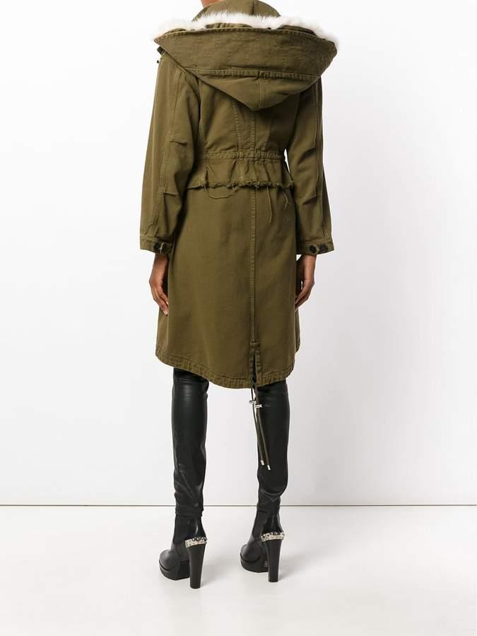 Alexander McQueen hooded parka jacket