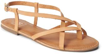 Gap Strappy Flat Sandals in Leather