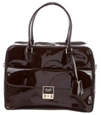 Anya Hindmarch Patent Leather Satchel