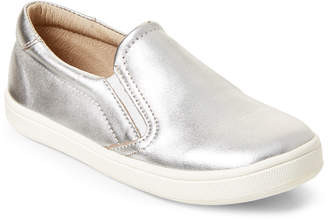 Old Soles Toddler/Kids Boys) Silver Dress Hoff Slip-On Sneakers
