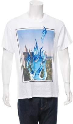 Julien David Short Sleeve Crew Neck T-Shirt w/ Tags