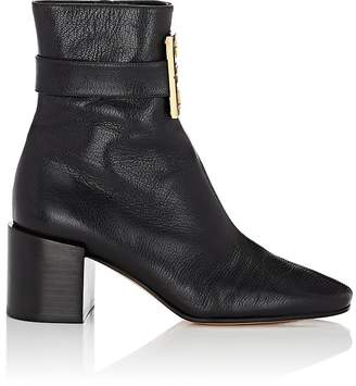 Givenchy Women's Logo-Embellished Leather Ankle Boots
