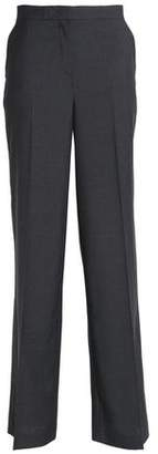 Robert Rodriguez Woven Wool Wide-Leg Pants