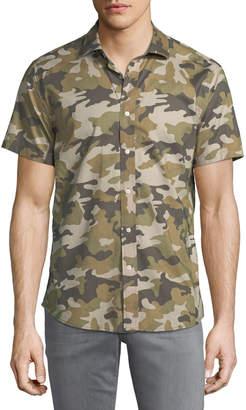 Slate & Stone Camouflage Short-Sleeve Sport Shirt