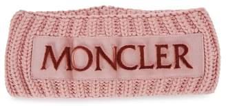 Moncler Pink Chunky-knit Wool Headband