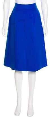 Maison Rabih Kayrouz Wool & Cashmere Skirt