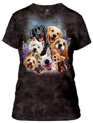 The Mountain Dog Selfie Adult Woman's T-Shirt