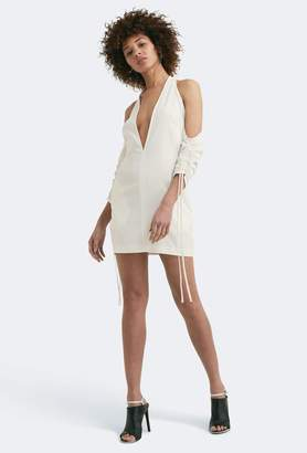 Aq/Aq Oleena Cold Shoulder Mini Dress