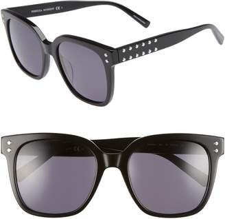 Rebecca Minkoff Cyndi 54mm Studded Sunglasses