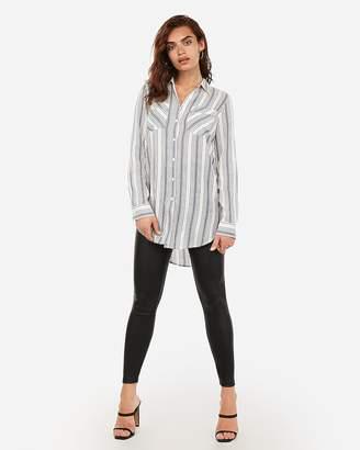 Express Stripe Oversized Tunic