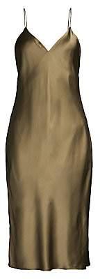 CAMI NYC Women's The Raven Silk Blend Slip Dress