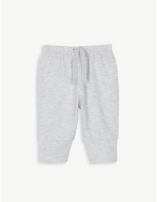 The Little White Company Jersey cotton jogging bottoms 0-24 months