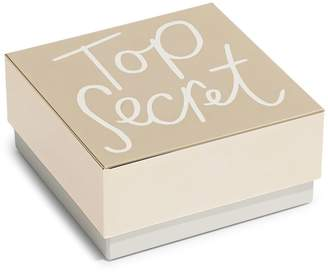 Kate Spade All That Glistens Top Secret Covered Box