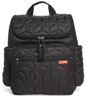 Infant Skip Hop 'Forma' Diaper Backpack - Black $70 thestylecure.com