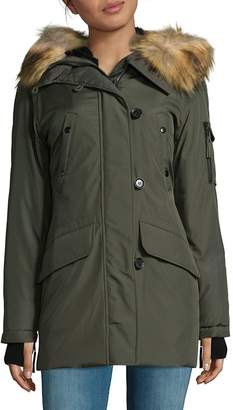 S13/Nyc S 13/NYC Women's Faux Fur Parka