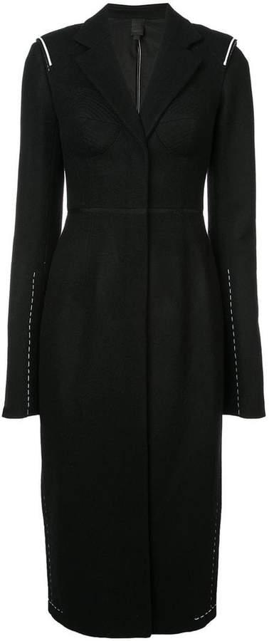 Vera Wang structured coat