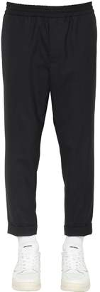 Ami Alexandre Mattiussi Cropped Cool Wool Pants