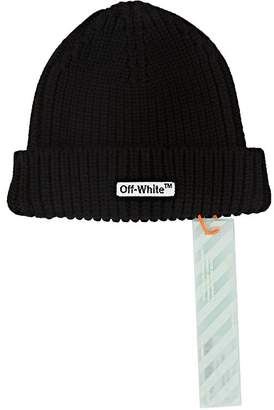 Off-White Men's Logo Wool Beanie