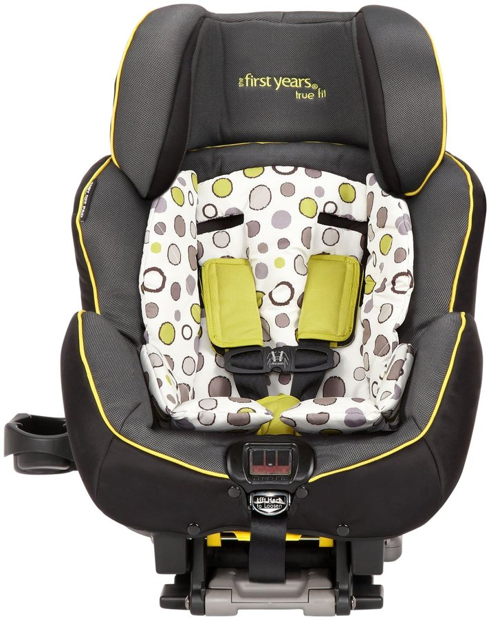 The First Years True Fit C680 Convertible Car Seat - Abstract O's