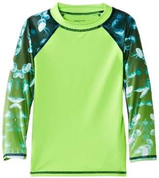 Pumpkin Patch Boy's Surf the Reef Jellyfish L/S Swim Shorts