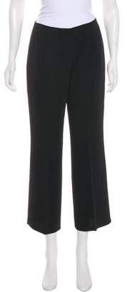 Yansi Fugel Mid-Rise Wide-Leg Pants